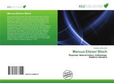 Bookcover of Marcus Elieser Bloch