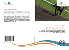 Bookcover of 2009 Epsom Derby