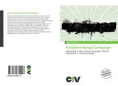 Buchcover von Finisterre Range Campaign