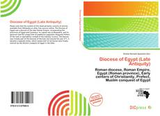 Обложка Diocese of Egypt (Late Antiquity)