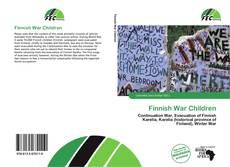 Capa do livro de Finnish War Children