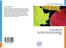 Bookcover of Lucio Amanti