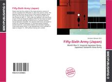 Bookcover of Fifty-Sixth Army (Japan)