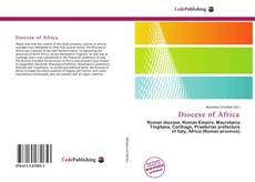 Couverture de Diocese of Africa