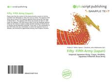 Bookcover of Fifty -Fifth Army (Japan)
