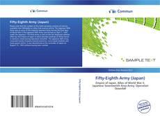 Capa do livro de Fifty-Eighth Army (Japan)
