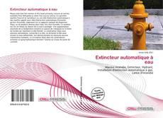 Portada del libro de Extincteur automatique à eau