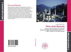 Обложка Pere Joan Barcelo