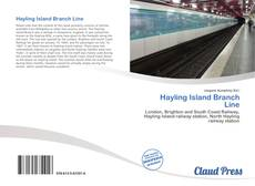 Bookcover of Hayling Island Branch Line