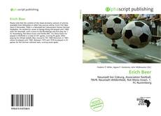 Bookcover of Erich Beer