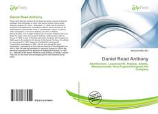 Bookcover of Daniel Read Anthony