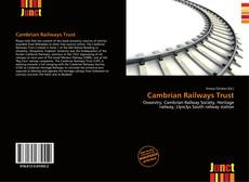Capa do livro de Cambrian Railways Trust