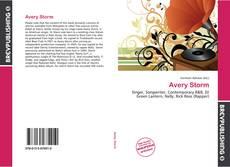 Capa do livro de Avery Storm