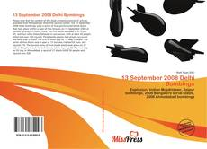 Buchcover von 13 September 2008 Delhi Bombings
