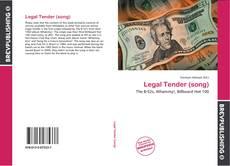Legal Tender (song) kitap kapağı