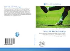 Buchcover von 2008–09 NOFV-Oberliga