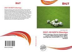 Portada del libro de 2007–08 NOFV-Oberliga