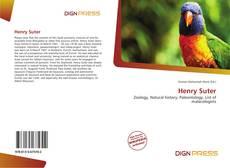 Buchcover von Henry Suter