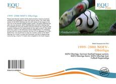 Buchcover von 1999–2000 NOFV-Oberliga