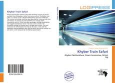 Capa do livro de Khyber Train Safari