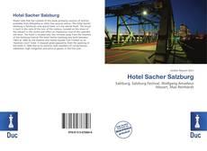 Buchcover von Hotel Sacher Salzburg