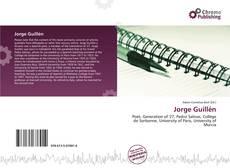 Capa do livro de Jorge Guillén