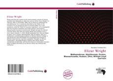 Bookcover of Elizur Wright