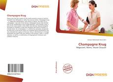 Bookcover of Champagne Krug