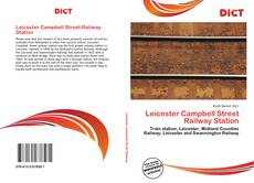 Copertina di Leicester Campbell Street Railway Station