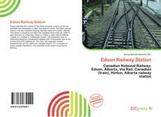 Capa do livro de Edson Railway Station