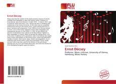 Buchcover von Ernst Décsey