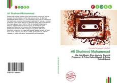 Ali Shaheed Muhammad kitap kapağı