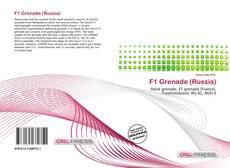 Bookcover of F1 Grenade (Russia)