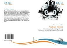 Arabian Prince kitap kapağı