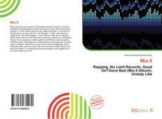 Capa do livro de Mia X