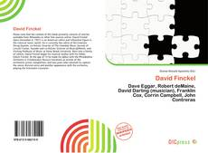 Bookcover of David Finckel
