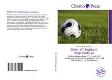 Bookcover of 2006–07 Fußball-Regionalliga