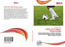Borítókép a  2003–04 Fußball-Regionalliga - hoz