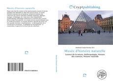 Bookcover of Musée d'histoire naturelle