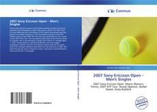Bookcover of 2007 Sony Ericsson Open – Men's Singles