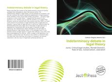 Couverture de Indeterminacy debate in legal theory