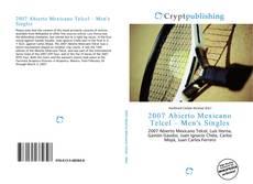 Buchcover von 2007 Abierto Mexicano Telcel – Men's Singles