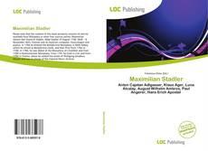 Maximilian Stadler kitap kapağı