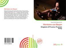 Hermann von Boyen kitap kapağı