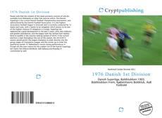 1976 Danish 1st Division的封面