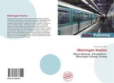 Обложка Meiningen Station