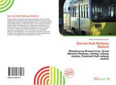 Gornal Halt Railway Station kitap kapağı