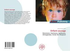 Bookcover of Enfant sauvage