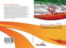 Bookcover of Mohammad Mossadegh