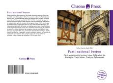 Capa do livro de Parti national breton